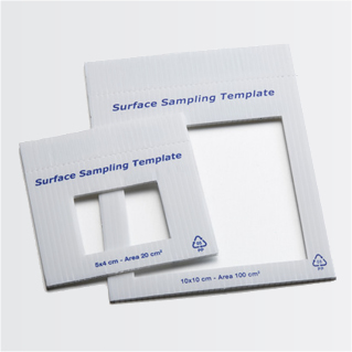 PP sampling surface template